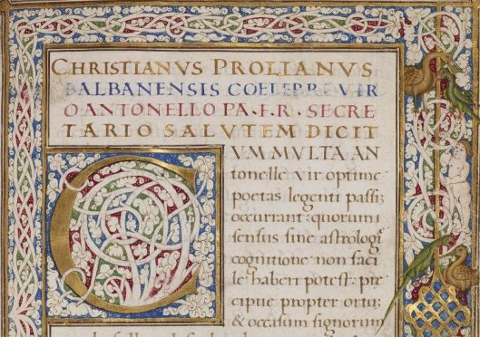 Latin MS 53, f.1r (detail)