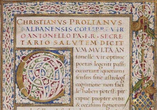 Latin MS 53, f.1r (detail)