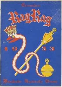 Cover of 1953 Coronation edition of University Rag Mag
