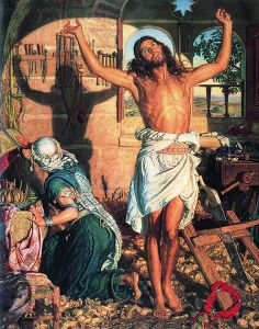 William Holman Hunt, 'The Shadow of Death'
