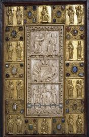 Trier bookcover, 10th-13th centuries.