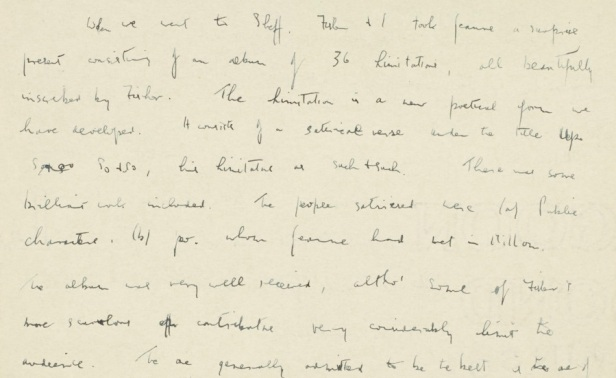 Letter to Sylvia Lubelsky, 29 December (year omitted). Acc. 2010/027, Box 2/3.