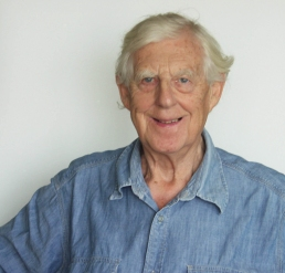 Portrait photograph of Herbert Lomas taken by Tom Southern in 2009