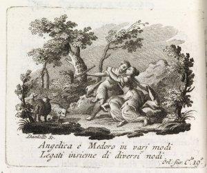 Angelica e Medoro, Orlando Furioso (1787). Spencer 3062