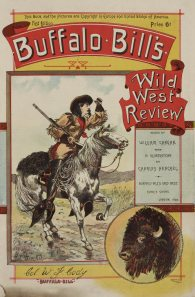 Magazine cover from the Buffalo Bill Scrapbook