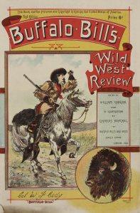 Magazine cover from the Buffalo Bill Scrapbook