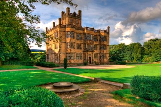 The beautiful Gawthorpe Hall, Padiham, Lancashire, home of Sir James Phillips  Kay-Shuttleworth from 1842. Photo credit: Lee Pilkington. http://www.nationaltrust.org.uk/gawthorpe-hall/visitor-information