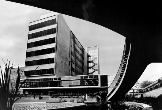 UMIST's Renold Building, opened in 1962