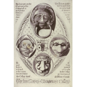 The Four Noses of Brasenose College-Herbert Hurst. R77284