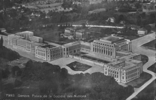 The League of Nations, Geneva