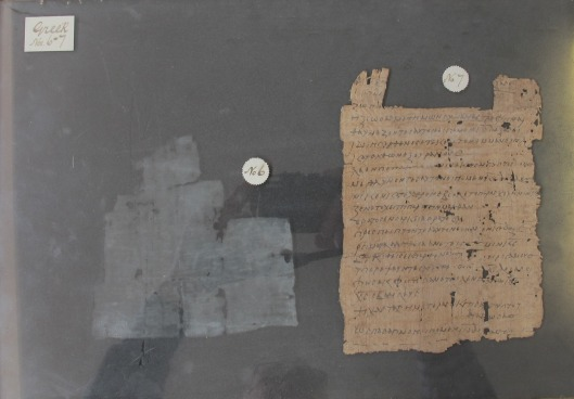 Salt deposit visible where the document was mounted