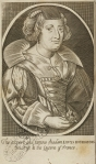 Portrait of Madame Louys Bourgeois, midwife to the queen of France.