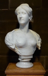 Portrait Bust of Elizabeth Gaskell by Hamo Thornycroft. Reference VFA.1