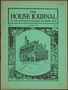 Cover of the House Journal no. 56, January 1928