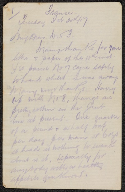 First World War Letters of Arthur Powell