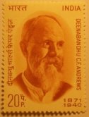 Charles Freer Andrews Commemorative Stamp