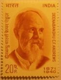 Charles Freer Andrews Commemorative Stamp