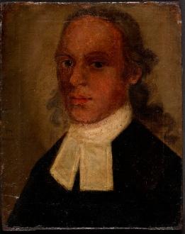 1. Oil Painting entitled 'John Wesley 1726'