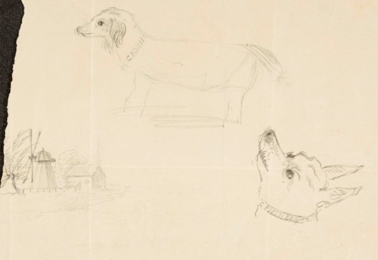Sketches by Hester Thrale Piozzi