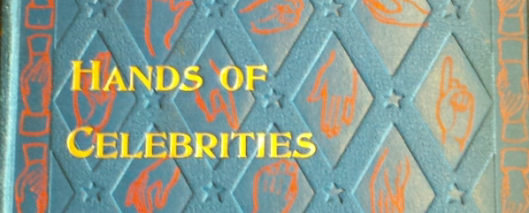 Hands of celebrities book cover