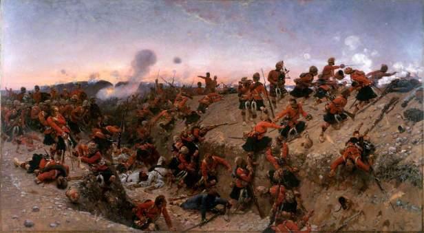 de Neuville, Alphonse-Marie-Adolphe, 1835-1885; The Storming of Tel el Kebir