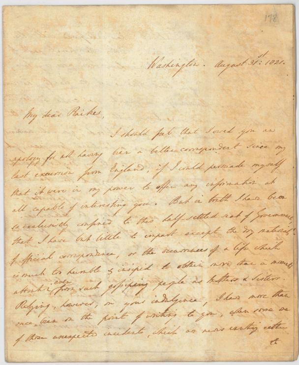 Stratford Canning Letter