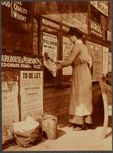 Bill Posters at the Metropolitan Railway, VPH.5.50