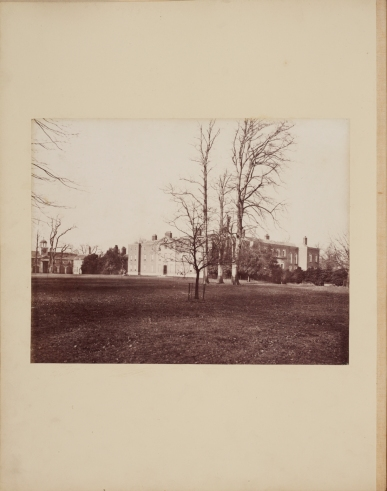 View of Dunham Massey by James Mudd, c1870s, ref. VPH.10.2