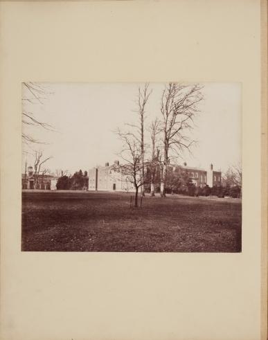 View of Dunham Massey by James Mudd, c1870s, ref. VPH.10.2
