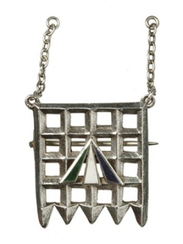 Holloway Brooch. This was designed by Sylvia Pankhurst in about 1909.