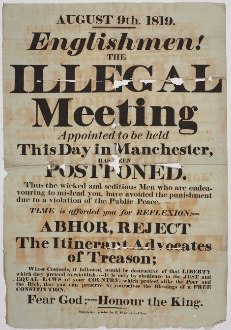 Illegal meeting