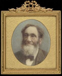 Portrait of Leo. H. Grindon by Helen Entwistle